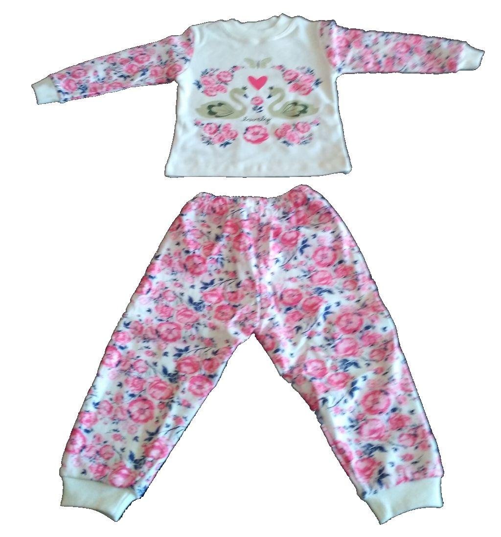 Пижама на девочку 1-3 года