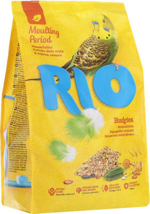 """Корм """"RIO"""" для волнистых попугаев в период линьки, 1кг"""