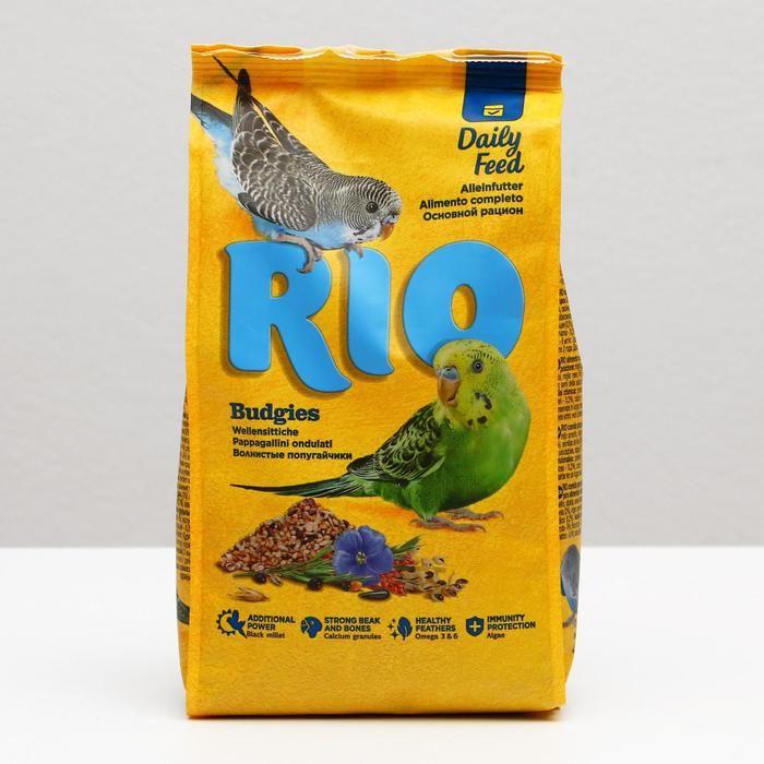 """Корм """"RIO"""" для волнистых попугайчиков 1кг"""