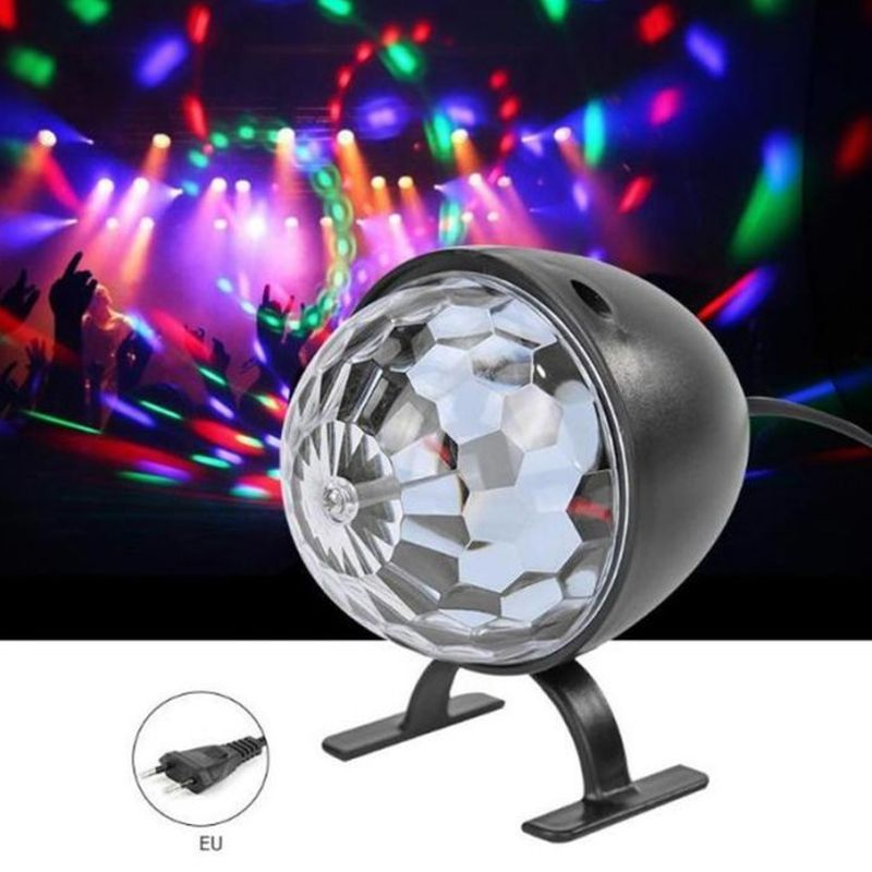 iizw Светодиодный диско шар-ночник на ножках (электропитание от сети 220 В) Новый, Гарантия, Доставка
