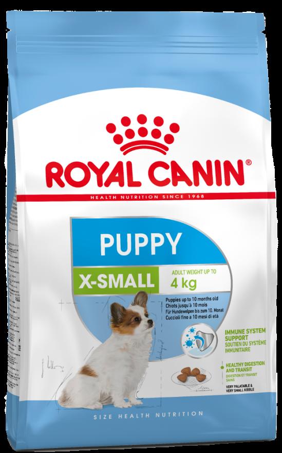 Сухой корм для собак ROYAL CANIN X-SMALL PUPPY 1,5кг