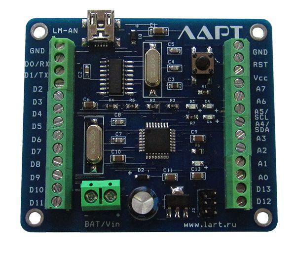 Контроллер LART LM-AN (Ардуино нано с винтовыми клеммами)