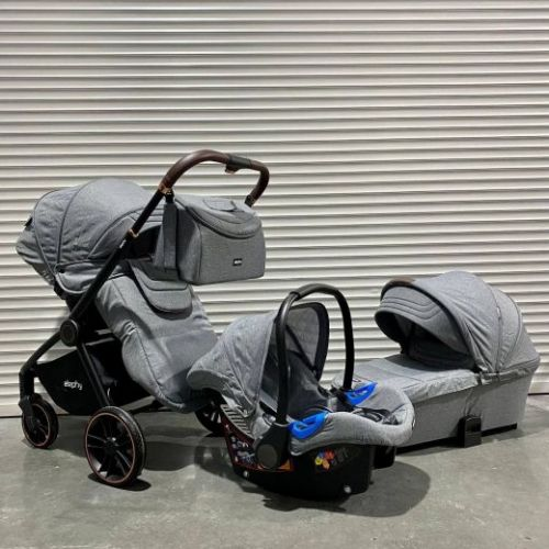 Модульная коляска 3в1 Elephy E70 Серый