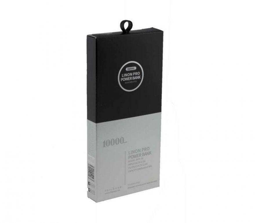 Внешний аккумулятор Remax Power Bank Linon Pro RPP-53 10000 mAh