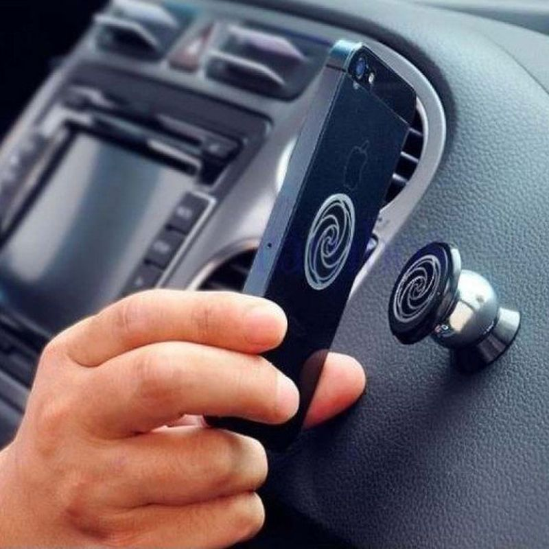 iizw Улучшенный авто-аксессуар держатель (магнитный шарик Feiyu UF-X) в автомобиль для смартфона, телефона, планшета. Новый, Гарантия, Доставка