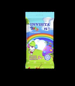 ТМ «Invista» Для детей с первых дней жизни 15 шт.