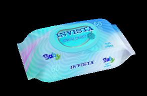 ТМ «Invista» Для детей с первых дней жизни (голубые) 60 шт.