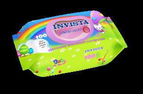 ТМ «Invista» Для детей с первых дней жизни 100 шт.