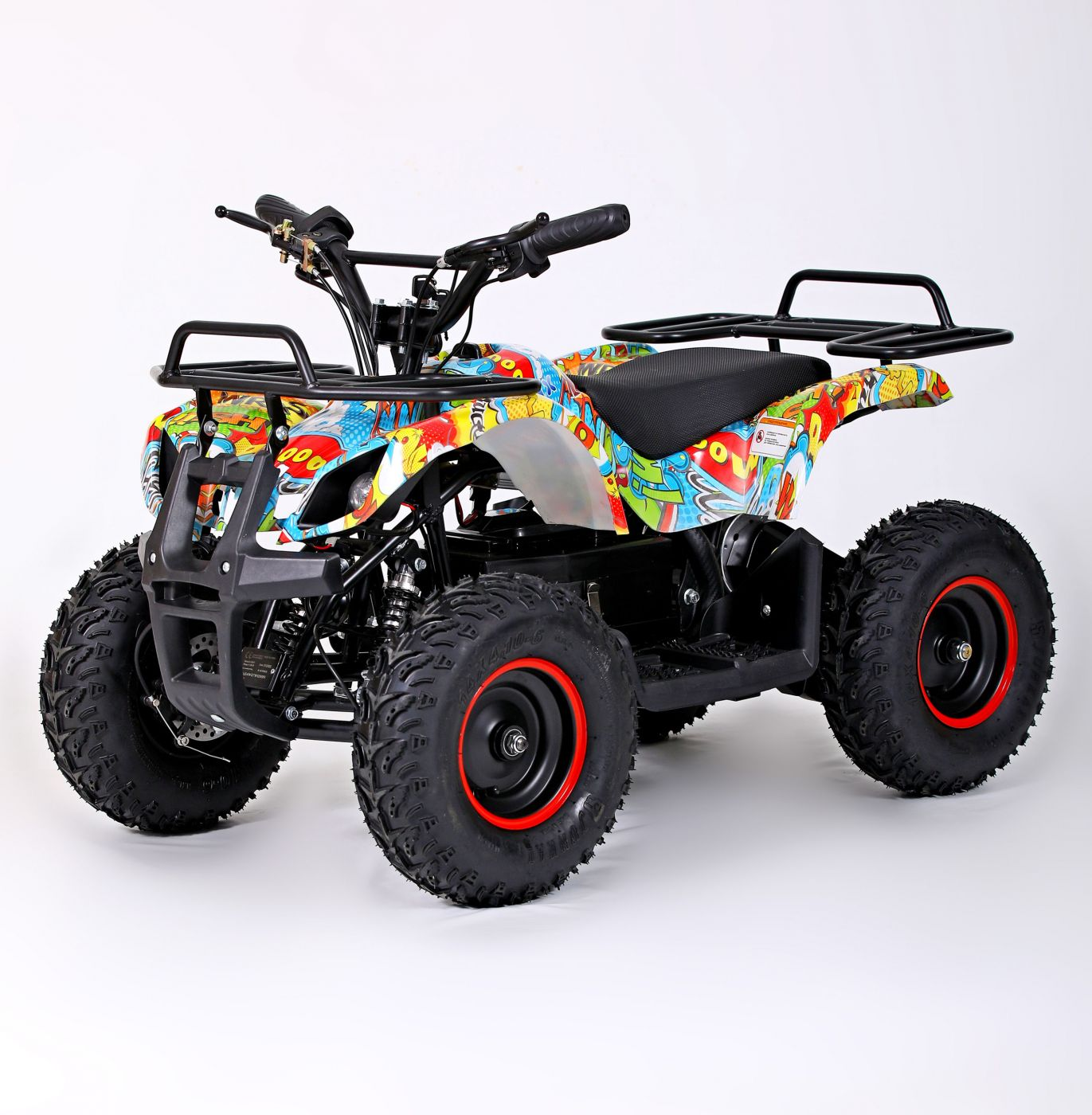 MOTAX Mini Grizlik Х-16 BIG WHEEL 1000W Электроквадроцикл