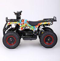 MOTAX MINI GRIZLIK Х-16 BIG WHEEL 1000W элетроквадроцикл вид 2