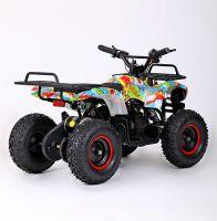 MOTAX MINI GRIZLIK Х-16 BIG WHEEL 1000W элетроквадроцикл вид 4