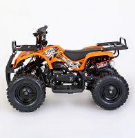 MOTAX Mini Grizlik Х-16 электростартер Квадроцикл бензиновый оранжевый 2
