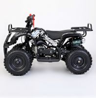 MOTAX Mini Grizlik Х-16 электростартер Квадроцикл бензиновый черный 2