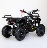 MOTAX Mini Grizlik Х-16 электростартер Квадроцикл бензиновый черный 4