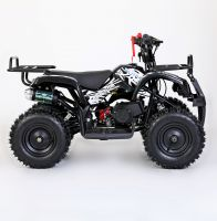 MOTAX Mini Grizlik Х-16 электростартер Квадроцикл бензиновый черный 5