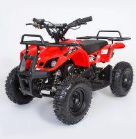 MOTAX Mini Grizlik Х-16 электростартер Квадроцикл бензиновый красный 1