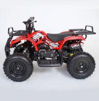 MOTAX Mini Grizlik Х-16 электростартер Квадроцикл бензиновый красный 2