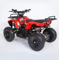 MOTAX Mini Grizlik Х-16 электростартер Квадроцикл бензиновый красный 3