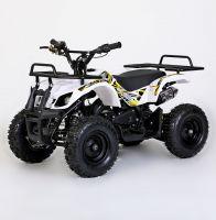 MOTAX Mini Grizlik Х-16 электростартер Квадроцикл бензиновый белый 1