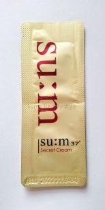 Su:m 37° Secret Cream – восстанавливающий крем для лица от бренда Su:m 37° из линии средств «Секрет» пришедшей на смену линии средств  Secret repair ( ранее - Secret Repair Concentrated  Cream)