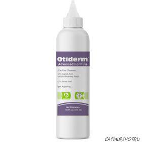Otiderm Advanced Formula Очищающее средство для ушей и кожи  473 мл.