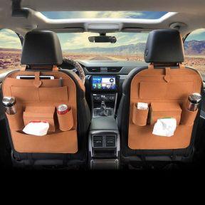 iizw Универсальный автомобильный органайзер с системой крепления на спинку переднего сидения StorageBag (коричневый) Новый, Гарантия, Доставка