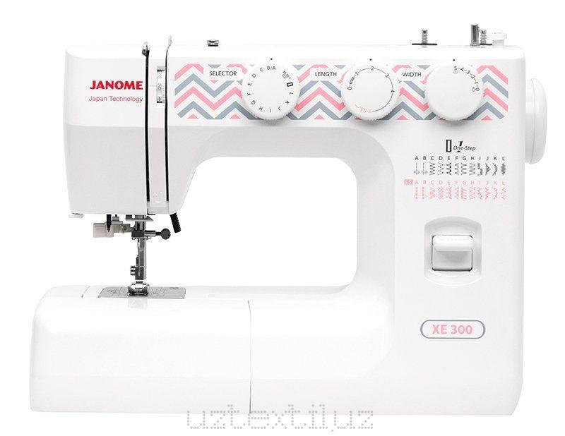 Швейная машина Janome XE-300 Tikuv Mashinasi