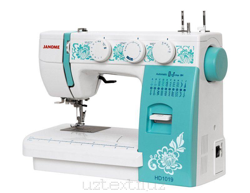 Швейная машина Janome HD1019 Tikuv Mashinasi