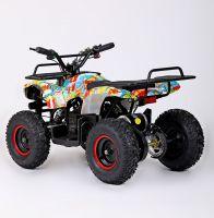 MOTAX MINI GRIZLIK Х-16 BIG WHEEL 1000W элетроквадроцикл вид 3