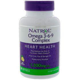 Natrol омега 3-6-9 90 капсул