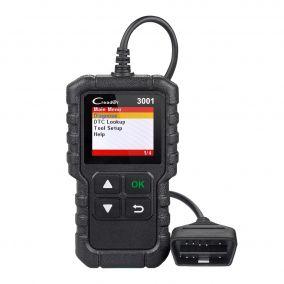 Диагностический автосканер Creader CR3001 OBD2
