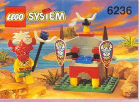 6236 Лего Трон старейшины Индиго