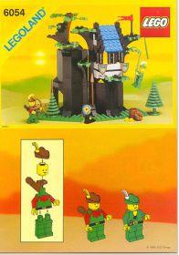 6054 Лего Убежище лесных разбойников