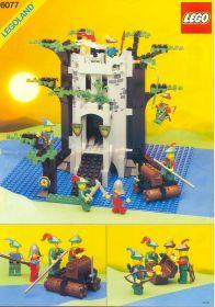 6077 Лего Речная крепость Робин Гуда
