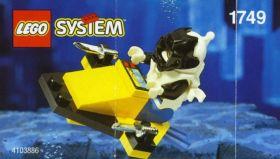1749 Лего Подводный скутер