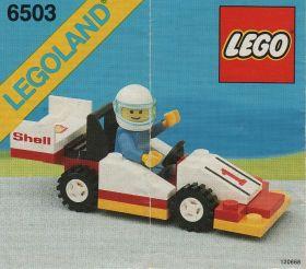 6503 Лего Гоночная машина