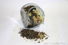 """Китайский зеленый чай """" Тихо в лесу"""" 100гр."""