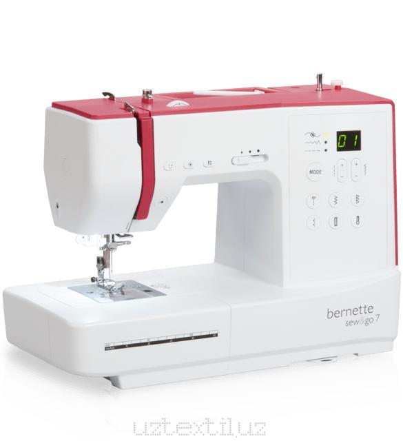 Швейная машина Bernette Sew&go 7 Tikuv Mashinasi