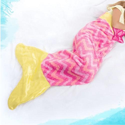 Одеяло - плед Хвост Русалки, 120х48 см