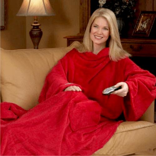 Одеяло-плед с рукавами Snuggie (Снагги)