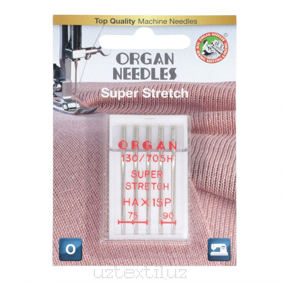 Игл Бытовые Organ 130/750H Super Stretch 75-90 в Блистере ( 5 штук )