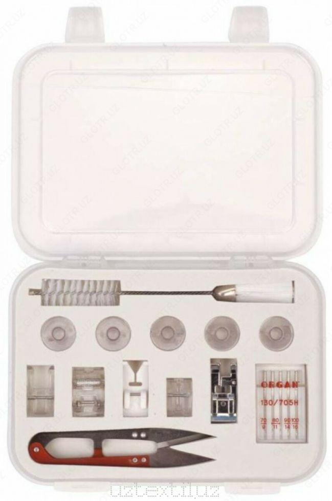 Универсальный набор аксессуаров для бытовых швейных машин
