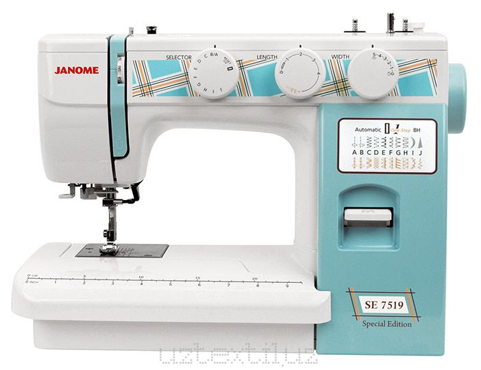 Швейная машина Janome SE 7519 Tikuv Mashinasi