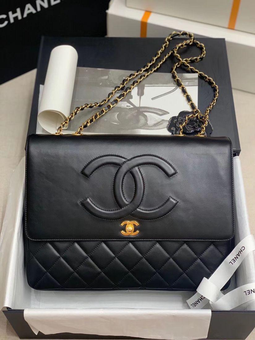 Chanel Vintage Logo 33 cm