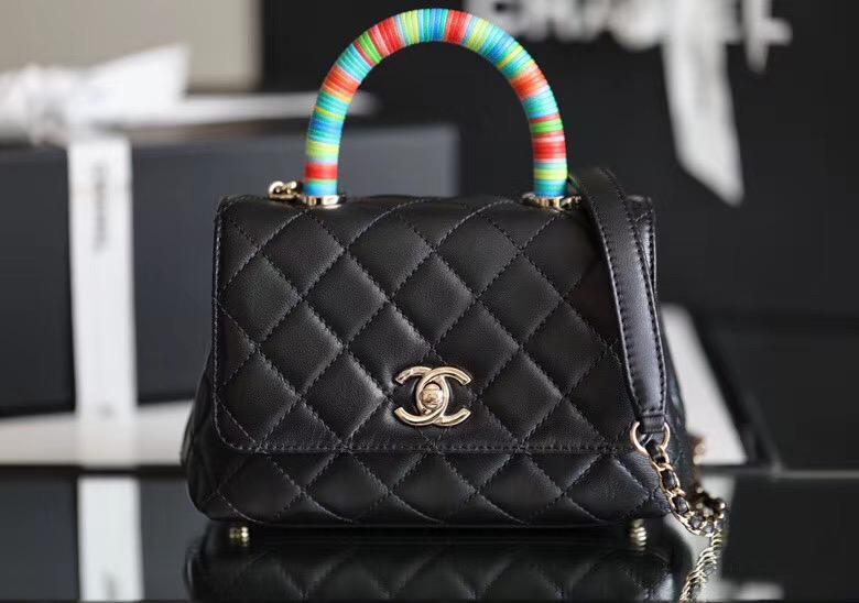 Chanel mini coco handle