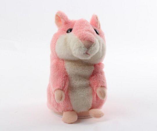 Говорящий хомяк (розовый)