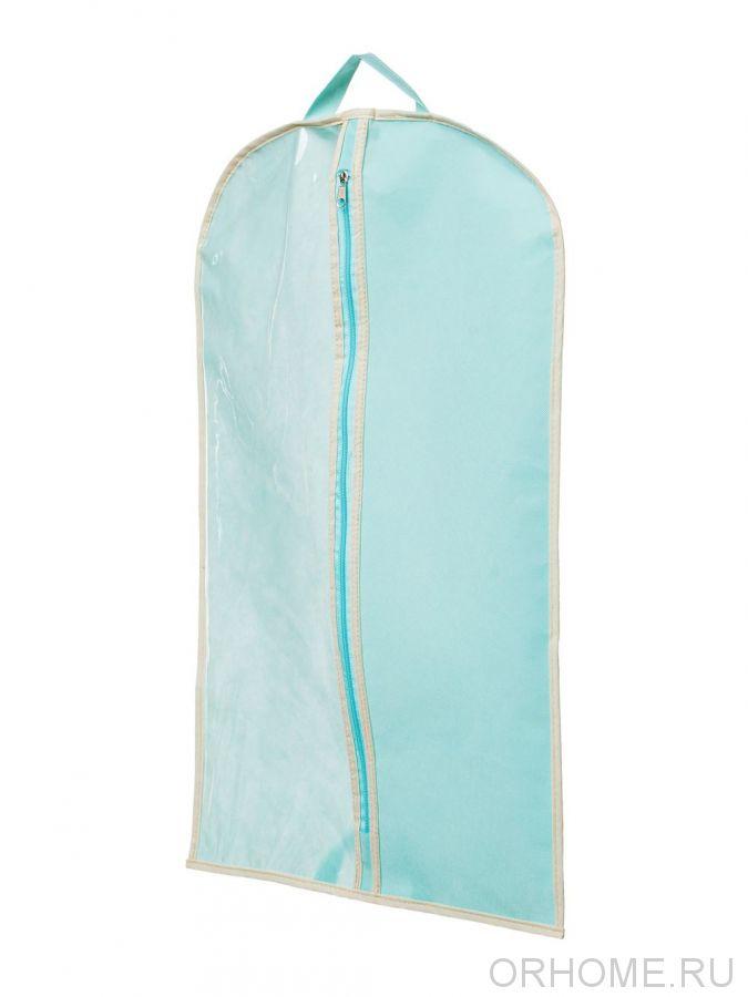 Чехол для хранения  одежды с прозрачной передней частью, 70х45 см