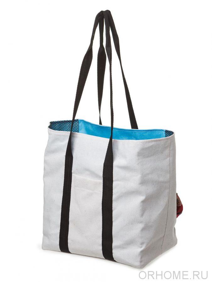Сумка-шоппер с внутренними карманами