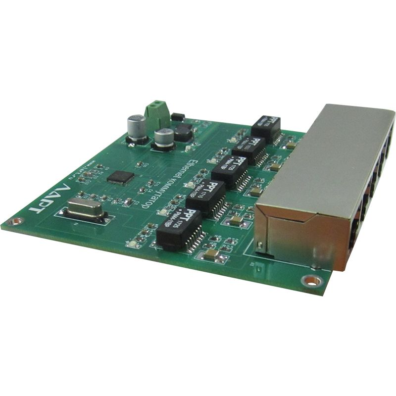Встраиваемый модуль неуправляемого коммутатора ЛАРТ LMS-5100RJ