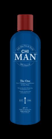 Шампунь, кондиционер и гель для душа CHI MAN 3-в-1 355 мл